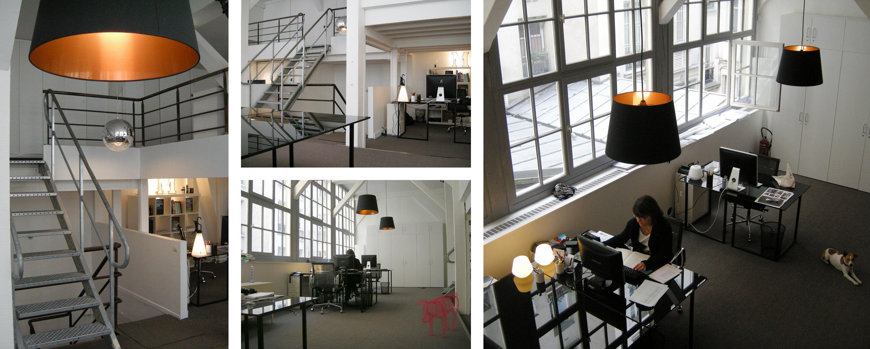 Barbara Sterkers - Bureaux Paris XI - Architecte Intérieur